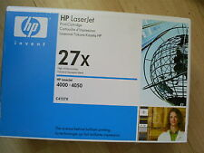 Genuine HP C4127X Toner Cartridge Laserjet 4000 4050     FREE POST