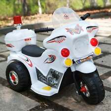 Electric Motorcycle Tricycle Battery Car Manufacturer Ride On Toys Kid US Pop