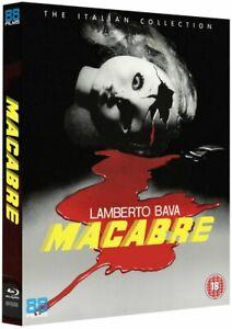 Lamberto Bava's: Macabre Blu Ray Region Free Inc Registered Post