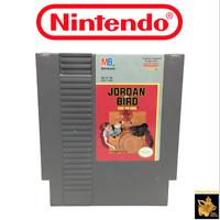 Bird Vs Jordan One on One 1985 Nintendo NES Video Game Cartridge Tested & Works