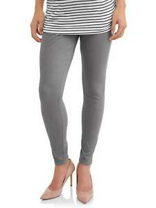 *NWT* Maternity Time and Tru Gray Jegging Full Panel XL (16-18)