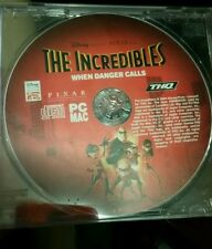 The Incredibles When Danger Calls (disc only) PC GAME - FREE POST