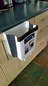 Collapsible Door Hanging Waste Bin caravan motorhome kitchen boat garage 9ltr