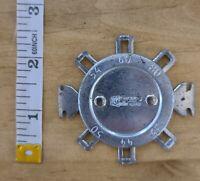 "KASTAR PRECISION Auto Mechanic Round Pocket Gap Tester USA Vintage Tool 2"""