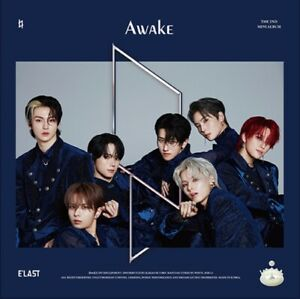 "K-POP E'LAST 2nd Album ""Awake"" <1 Photobook + 1 CD> Navy Ver"