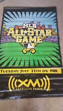 2006 MLB All Star Game Event Used PNC Park Street Banner 4x6 Burton Morris Art