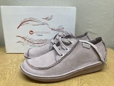 Funny Dream Ladies Clarks Unstructured Lillic Flat Lace Up Shoes Uk Size 8D NEW