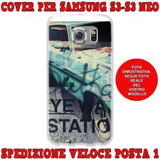 CUSTODIA COVER MORBIDA SILICONE PER SAMSUNG GALAXY S3 i9300 S3 NEO i9301 AUTO