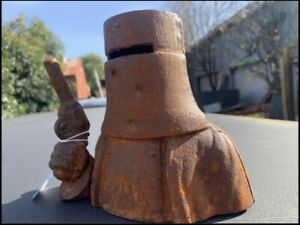 NED KELLY Cast Iron MONEY BANK Box Pick Up Or Flat Rate Postage