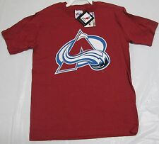 Colorado Avalanche Sealant Majestic Youth T-Shirt Medium 100% Cotton NHL Hockey