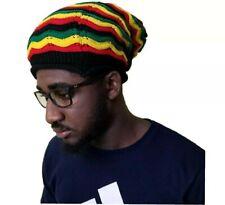 Beret Tam Hat Rasta Bob Marley Beanie Jamaica Cap Dreadlocks Dreads Hair Colors
