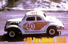 CD_490  #40 Rex White  Modified  1:64 Scale Decals   ~OVERSTOCK~