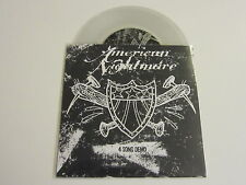 "AMERICAN NIGHTMARE 4 Song Demo 7"" CLEAR VINYL limited"