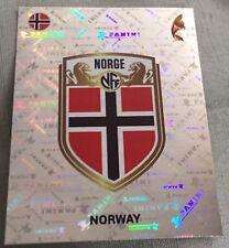 womens euro 21017 panini sticker 35 Norway badge
