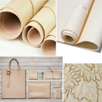 DIY Craft Cowhide Vegetable-tanned Leather Fabric Wallet Luggage Bags 1.5mm 1 PC