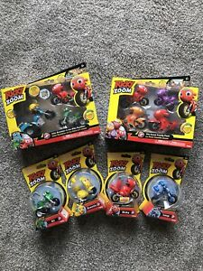 Ricky Zoom Lot Ricky Pop And Go / Family Pack / Maxwell And The Bike Buddies #2