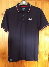 Henleys Size Small Burrow Mens Polo Shirt Navy Blue