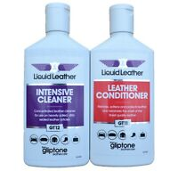 Gliptone Liquid Leather Cleaner & Conditioner Kit. GT11 & GT12.