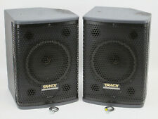 Pair Tannoy T8 Compact Passive 8 inch Dual Concentric Speakers Monitors