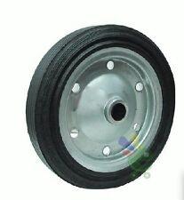 Ruote  ruota in gomma piena per carrelli betoniera diametro 35 cm foro 43 mm