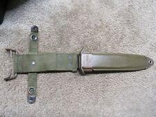 Us Vietnam Era M8A1 Bayonet Scabbard Less Common Maker Wd w/ Vp Body Marked