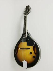 Caraya 8 String A Style Vintage Sunburst Electric Mandolin+Bag MA-001EBS