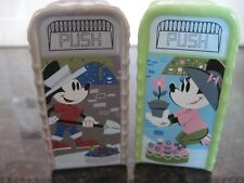 Disney, Epcot Flower and Garden Show 2017 Mickey & Minnie, Trah Can Salt Shaker