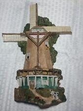 Brian Baker Deja Vu Collection: Windmill On The Dike #1034 Signed Sculpture