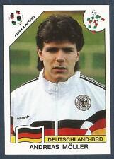 PANINI WORLD CUP STORY #202-ITALIA 90-DEUTSCHLAND-BRD-GERMANY-ANDREAS MOLLER