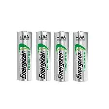 4 Energizer AA Rechargeable Batteries Made in Japan NEW and FREE SHIPPING