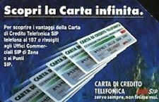 Carta infinita n° 1206 val. 10000 scad. 31 12 92 TP 1° tipo USATA