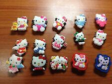 Hello Kitty - decorazioni per scarpe n°15 pezzi