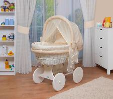 WALDIN Baby Passeggino,Culla per neonato XXL NUOVO Giallo/ Beige