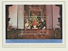 1997 DOMINICA GOLDEN WEDDING ANNIVERSARY MINIATURE SHEET PERF