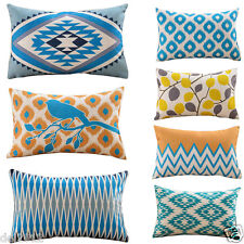 Geometric Printing Pillow Cases Home Decor Cafe Sofe Bedding Cushion Case Cover