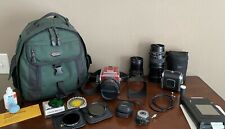 501CM Red Hasselblad with Extra Lens, Complete kit & Film