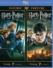 Harry Potter Double Feature: The Deathly Hallows Part 1 & 2 [Blu-ray] DVD, Maggi