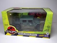 JURASSIC PARK LOST WORLD HUM VEE HUNTER VEHICLE DIE CAST 1:24 JOHNNY LIGHTNING
