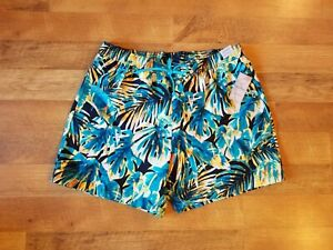 ROUNDTREE & YORKE men's XL vaporwave 3 pocket swim trunks shorts swimwear