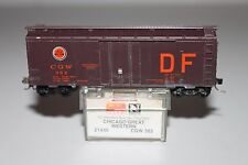 N Scale MTL Chicago Great Western 40' Plug Door Boxcar 382
