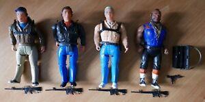 Set of A-Team Figures - 1983 Galoob
