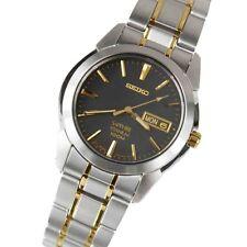 Seiko Titanium Sapphire Quartz Men's Watch SGG735P1