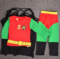 Boys Kids 4pc Children Costume Set Halloween Party Dress Up Outfit Cosplay ROB