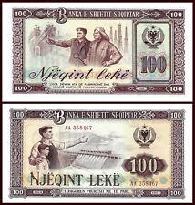 ALBANIA 1964 - 100 leke - BANKNOTE - UNC