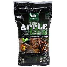 Wood Cooking Pellets Apple Pellet Blend 28 lb Bag Red Oak Hickory Applewood GMG