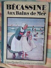 BECASSINE AUX BAINS DE MER  1932 E.O.ED.GAUTIER-LANGUEREAU