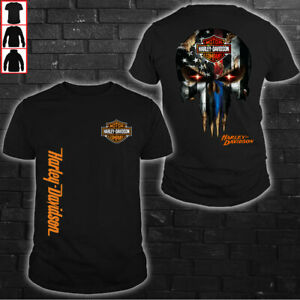 Harley-Davidson MOTORCYCLES- Top Gift- Men's US 2D T-Shirt- Size S to 5XL