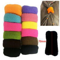 12Pcs/Pack Women Girls Hair Band Ties Rope Ring Elastic Hairband Ponytail Holder