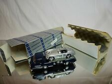 CONRAD 103402 MERCEDES BENZ 1955 RACING CAR TRANSPORTER + CAR 1:43 - EXCELLENT