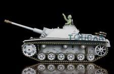 US Stock RTR RC Tank Model Plastic Ver Tracks 3868 1/16 HengLong German Stug III